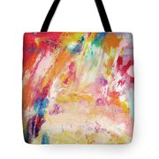 Happy Day- Abstract Art By Linda Woods Tote Bag