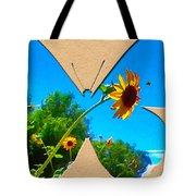 Happy Day Greeting Card Tote Bag