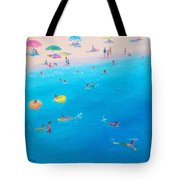 Happy Days At The Seaside Tote Bag
