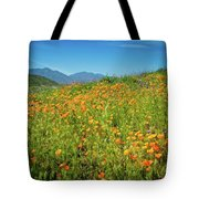 Happy Days In Walker Canyon Tote Bag