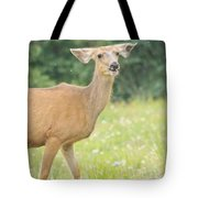 Happy Deer Tote Bag