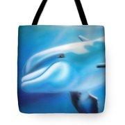 Happy Dolphin Tote Bag