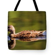Happy Duck Tote Bag