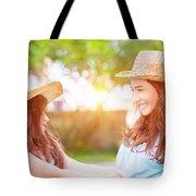 Happy Family Life Tote Bag
