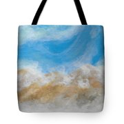 Happy Fog Tote Bag