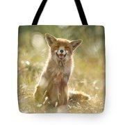 Happy Fox Is Happy Tote Bag