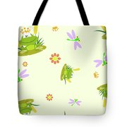 Happy Frogs Tote Bag