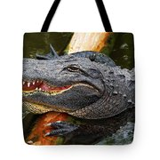 Happy Gator Tote Bag