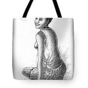 Happy Girl Tote Bag