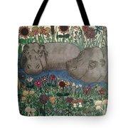 Happy Hippos Tote Bag