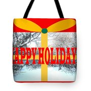 Happy Holidays 21 Tote Bag