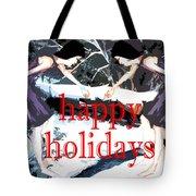 Happy Holidays 30 Tote Bag