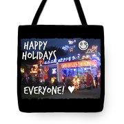 Happy Holidays Tote Bag