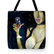 Happy Hour Glass Red Wine  Tote Bag