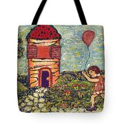 Happy In The Garden Tote Bag