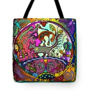 Happy Kitties Tote Bag