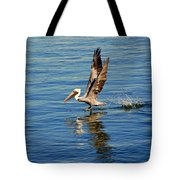 Happy Landing Pelican Tote Bag