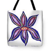 Happy Lily Bloom Tote Bag