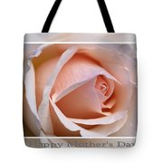 Happy Mother's Day Soft Rose Tote Bag