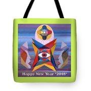 Happy New Year 2018 Tote Bag
