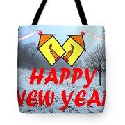 Happy New Year 24 Tote Bag