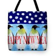 Happy New Year 5 Tote Bag