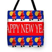 Happy New Year 7 Tote Bag