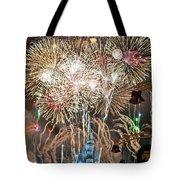 Happy New Year From Walt Disney World Tote Bag