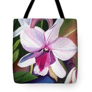 Happy Orchid Tote Bag