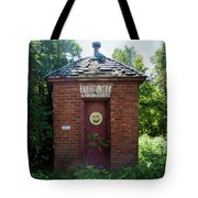Happy Outhouse Tote Bag