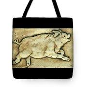 Happy Pig Tote Bag