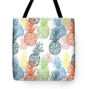 Happy Pineapple- Art By Linda Woods Tote Bag