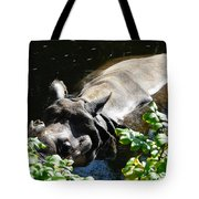 Happy Rhino Tote Bag