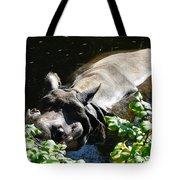 Happy Rhino Tote Bag