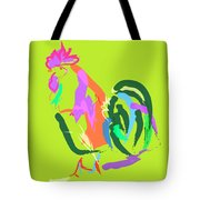 Happy Rooster Tote Bag