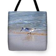 Happy Sandpiper Tote Bag