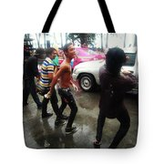 Happy Songkran. The Water Splashing Tote Bag