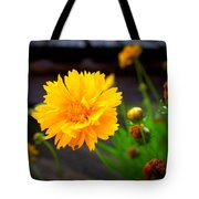 Happy Spring Flower Tote Bag