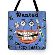 Happy Teeth Tote Bag