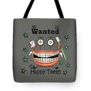 Happy Teeth T-shirt Tote Bag