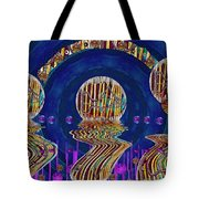 Happy Under The Rainbow Vintage Tote Bag