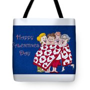 Happy Valentine Day Tote Bag