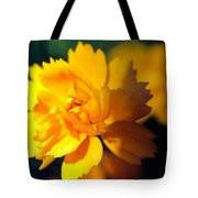 Happy Yellow Flower Tote Bag