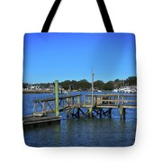 Harbor At Mcclellanville, Sc Tote Bag