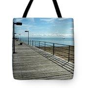 Harbor Beach Lake Huron Michigan Tote Bag