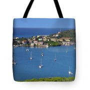Harbor Blues Tote Bag by Stephen Anderson