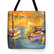 Harbor Day Tote Bag