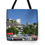 Harbor In Salvador Da Bahia Brazil Tote Bag