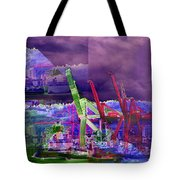 Harbor Island Workhorses Tote Bag