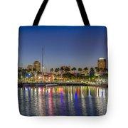 Harbor Lights  Tote Bag